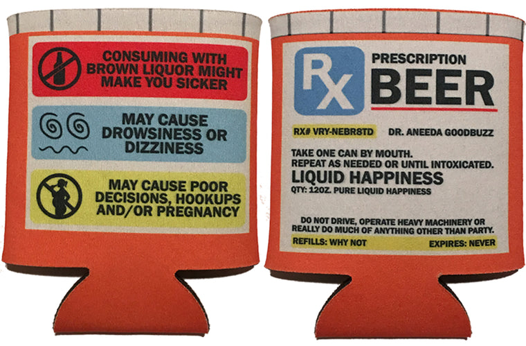 Koozie - Prescription Bottle BEER KOOSIE
