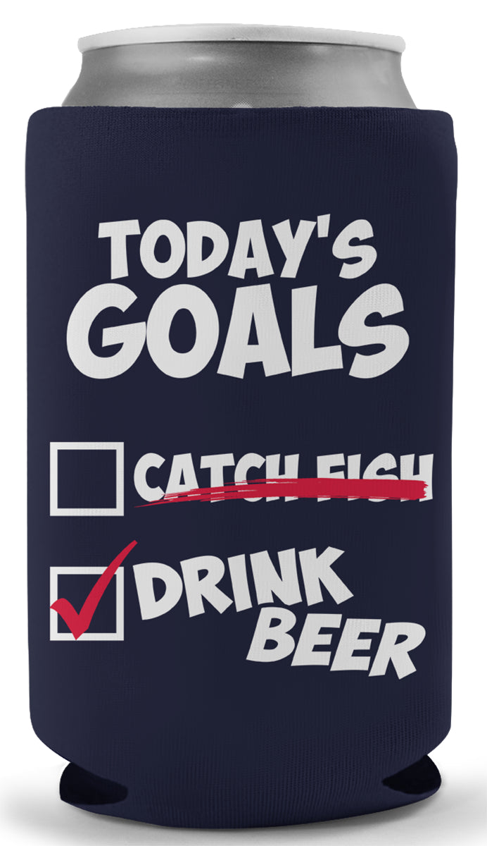 Today's Goals Koozie
