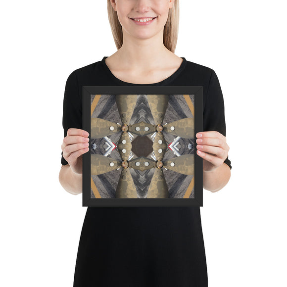 hinesii 'Portal' Enhanced Matte Paper Framed Poster