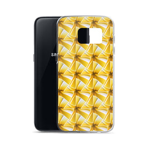 hinesii 'Plumeria' Samsung Phone Cases - all sizes