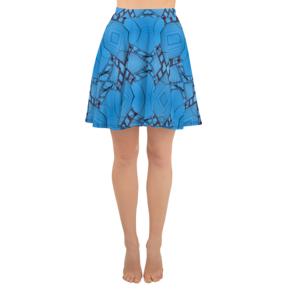 hinesii 'Inversion Golden Gate' Skater Skirt