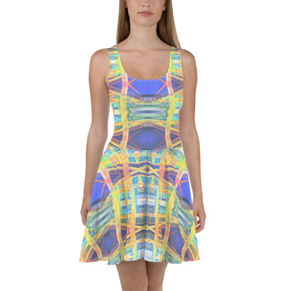 hinesii 'Kozmic Fade' Skater Dress