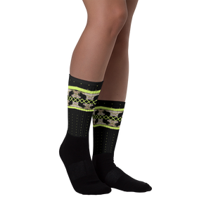 hinesii 'Chartreuse Squirrel' Crew Length Socks
