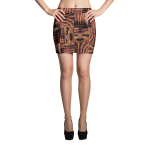 hinesii 'Lincoln Red' Mini Skirt