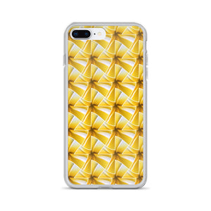 hinesii 'Plumeria' iPhone Cases - all sizes