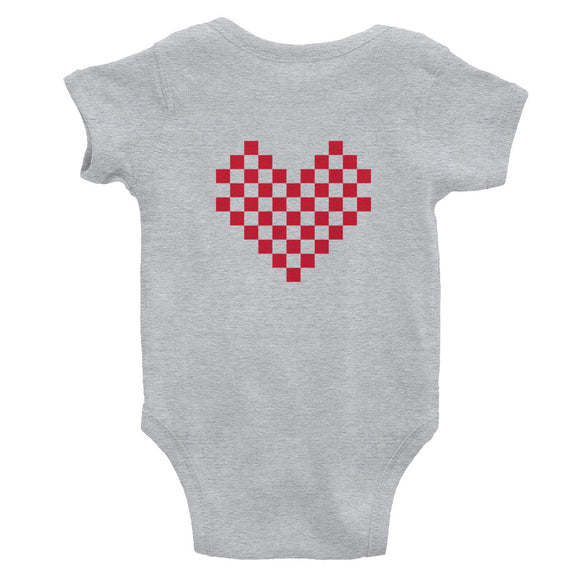 hinesii 'Reindeer Love' Infant Bodysuit