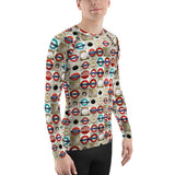 hinesii 'Circles' Men's Rash Guard