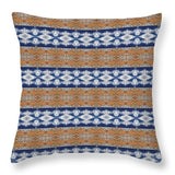 Rusty Clouds - Throw Pillow