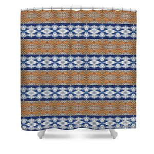 Rusty Clouds - Shower Curtain