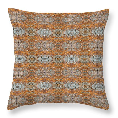Rusty Lace - Throw Pillow