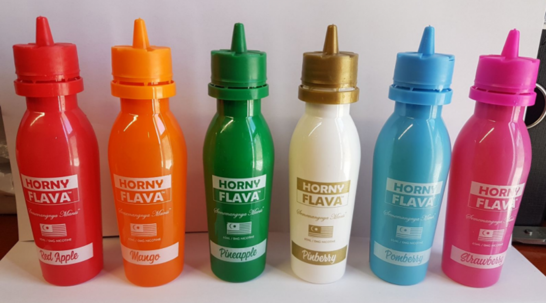 A Vape Review Of The Full Line Of Horny Flava Eliquid For 2020