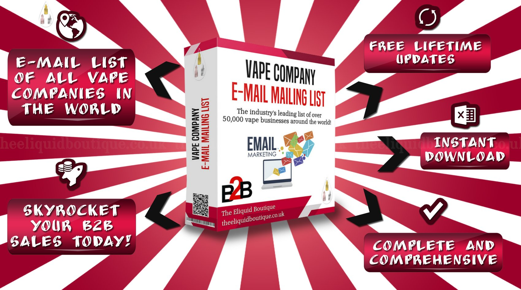 Hooray! The Vape Company Email List Has Undergone Another Update Today!