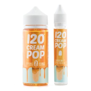 Vape Review of 120 Cream Pop E-Liquid
