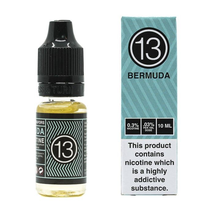 Vape Review of 13th Floor Elevapors - Bermuda E-Liquid Black Friday Exclusive