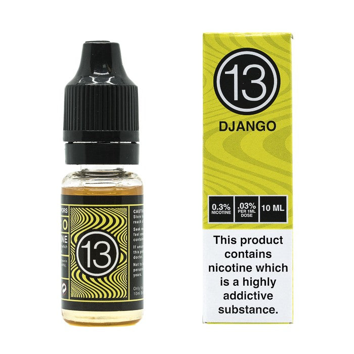 Vape Review of 13th Floor Elevapors - Django 60ml E-Liquid