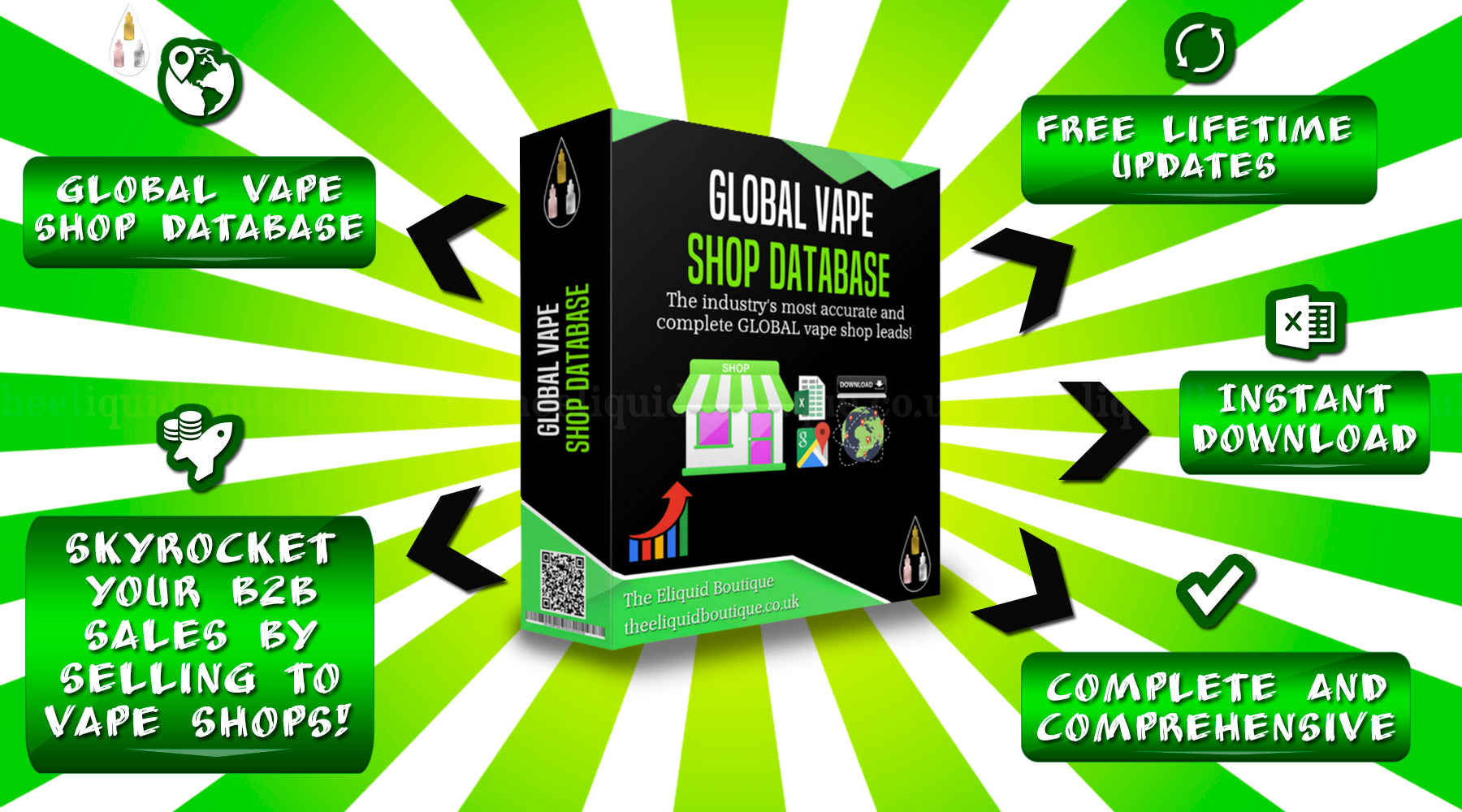 global vape shop database