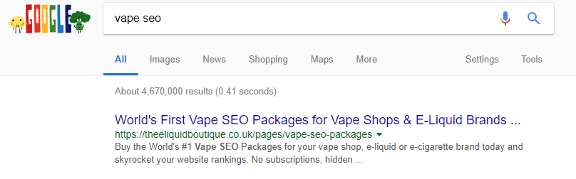 How to Find SEO Keywords for Online Vape Shop