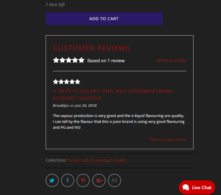 Encourage reviews from real customers