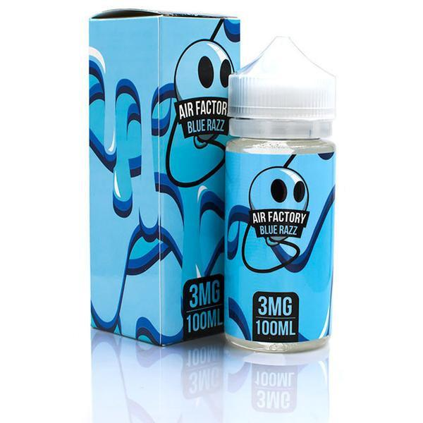 Vape Review of AIR FACTORY BLUE RAZZ EJUICE