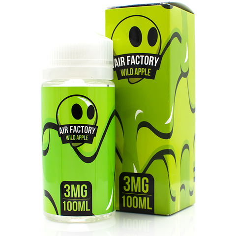Vape Review of AIR FACTORY WILD APPLE EJUICE