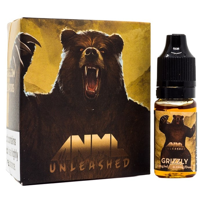 Vape Review of ANML Unleashed - Grizzly E-Liquid