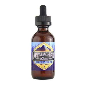 Vape Review of APPALACHIAN STEAM HUCKLEBERRY TRAIL MIX