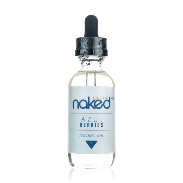 Vape Review of Azul Berries by Naked 100 Cream E-liquid (60mL)