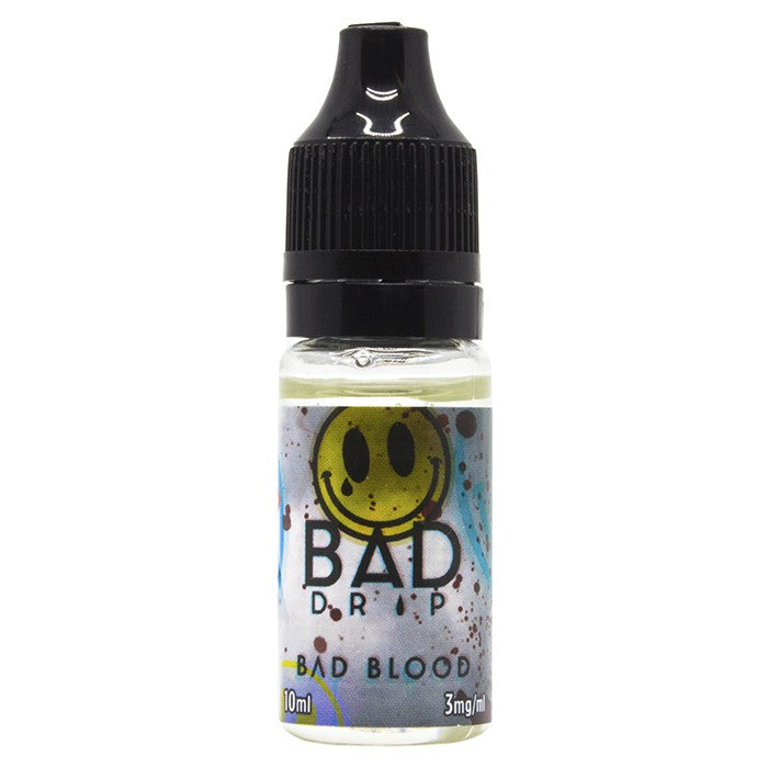 Vape Review of Bad Drip Labs - Bad Blood E-Liquid