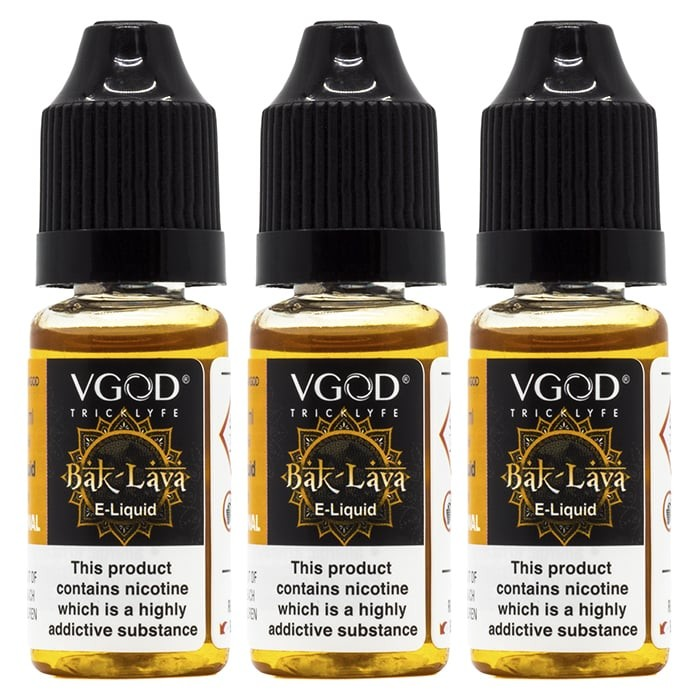 Vape Review of BakLava E-Liquid by VGOD