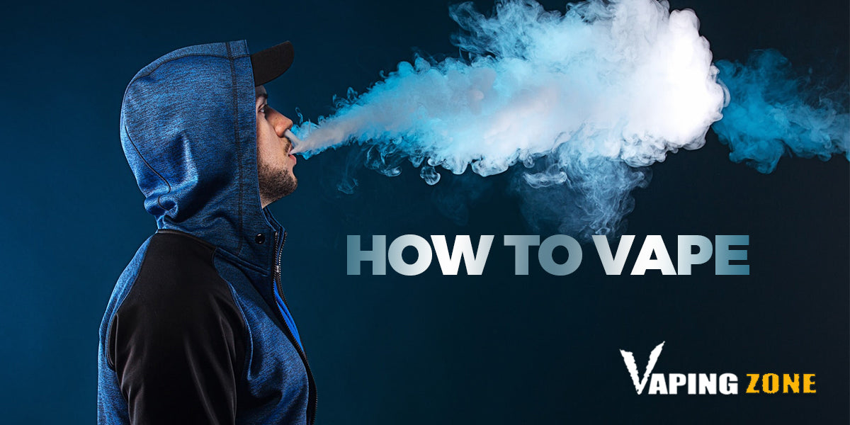 How To Vape & Inhale Vape Without Coughing
