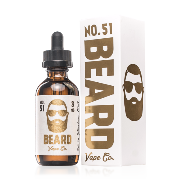 Vape Review of Beard Vape Co. Number #51 E-liquid (60ML)