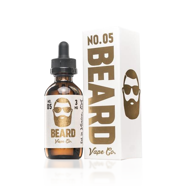 Vape Review of Beard Vape Co. Number #5 E-liquid (60ML)