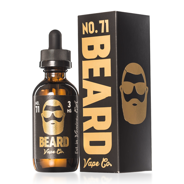 Vape Review of Beard Vape Co. Number #71 E-liquid (60ML)