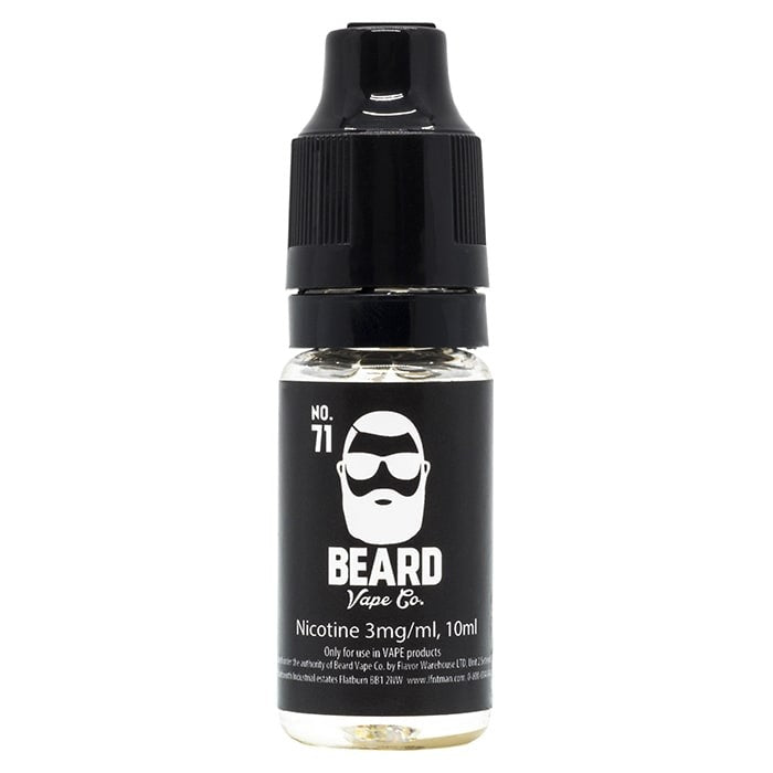 Vape Review of Beard Vape Co - #71 E-Liquid