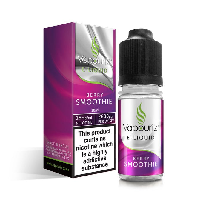 Vape Review of Berry Smoothie E-Liquid 10ml