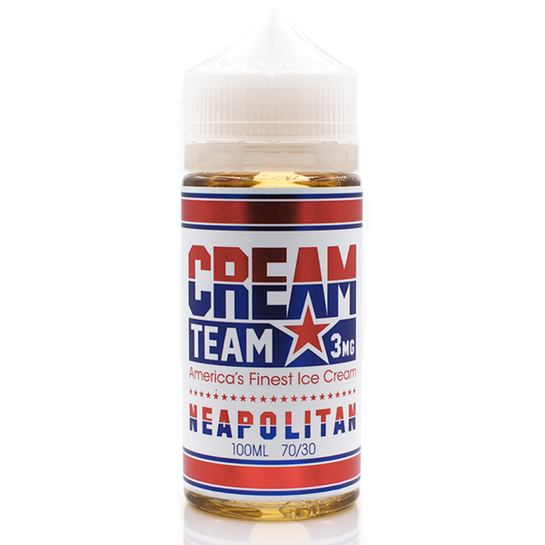 Vape Review of CREAM TEAM NEAPOLITAN EJUICE