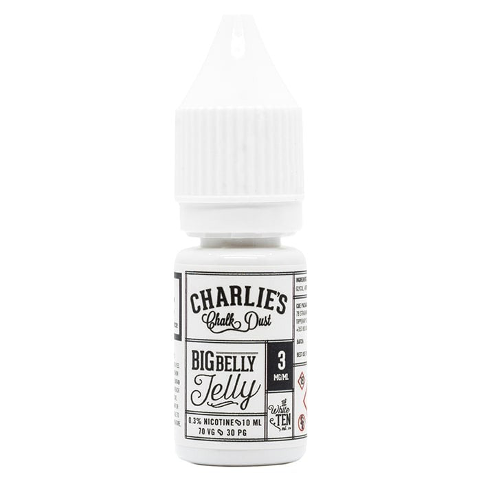 Vape Review of Charlies Chalk Dust BIG BELLY Jelly