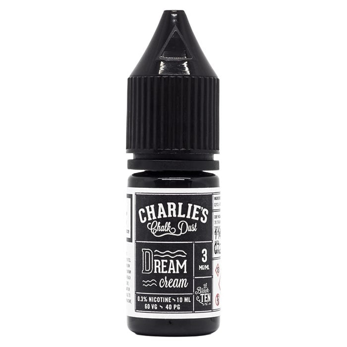 Vape Review of Charlies Chalk Dust Dream Cream - Black Label E-Liquid