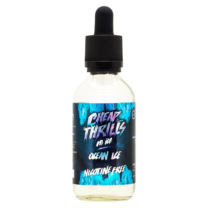 Vape Review of Cheap Thrills Juice Co - Ocean Ice E-Liquid