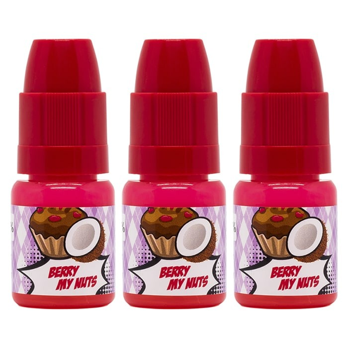 Vape Review of Cheeky Monkey - Berry My Nuts 10ml x 3