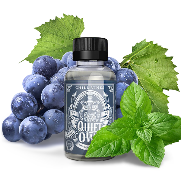Vape Review of Chill Vines by Quiet Owl E-liquid (60mL)