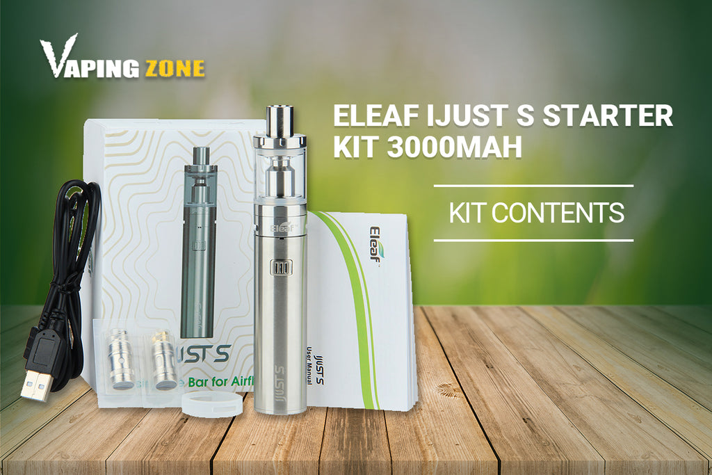 Eleaf iJust S Starter Kit 3000mah Reviews