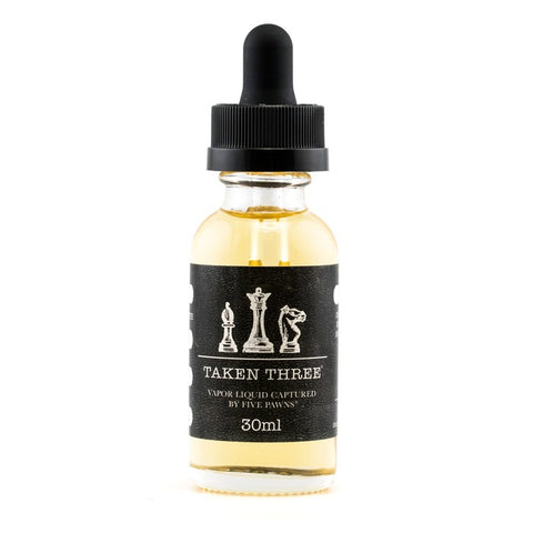 Vape Review of Five Pawns Taken Three Kibitzer E-Liquid