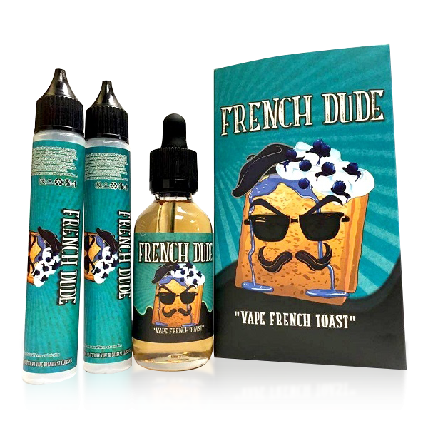 Vape Review of French Dude E-liquid by Vape Breakfast Classics (60ML)