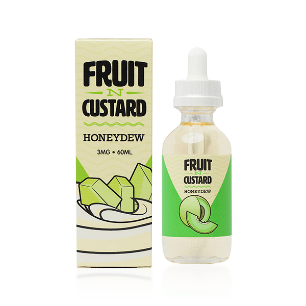 Vape Review of Fruit N Custard Honeydew E-liquid by Vapetasia (60ML)
