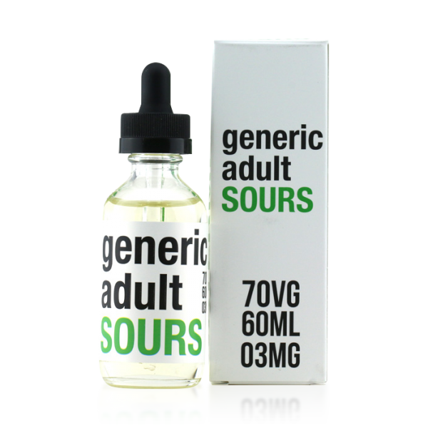 Vape Review of Generic Adult Sours Watermelon E-liquid (60ML)