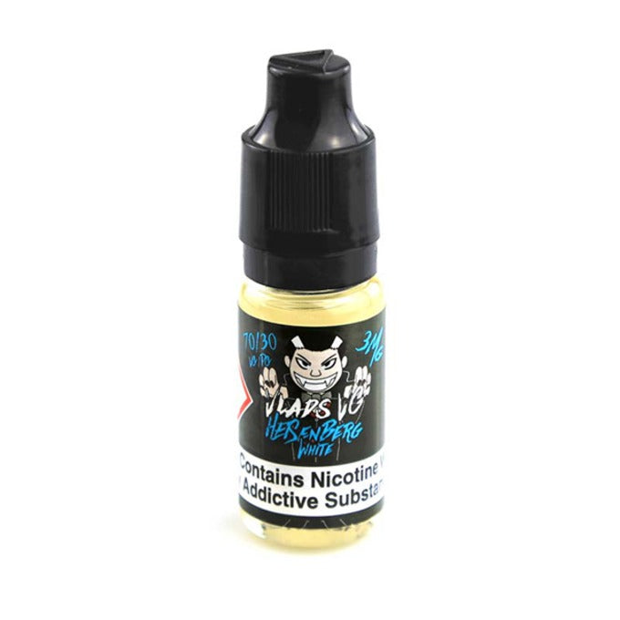 Vape Review of Heisenberg White E-Liquid 10ml (High VG)