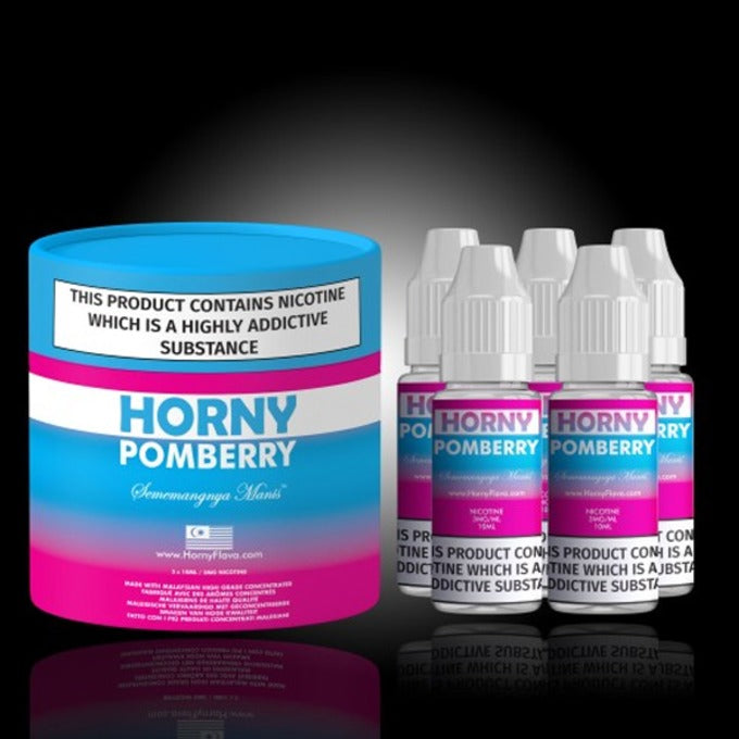 Vape Review of Horny Pomberry E-Liquid Multipack by Horny Flava