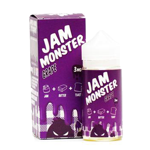 Vape Review of JAM MONSTER GRAPE