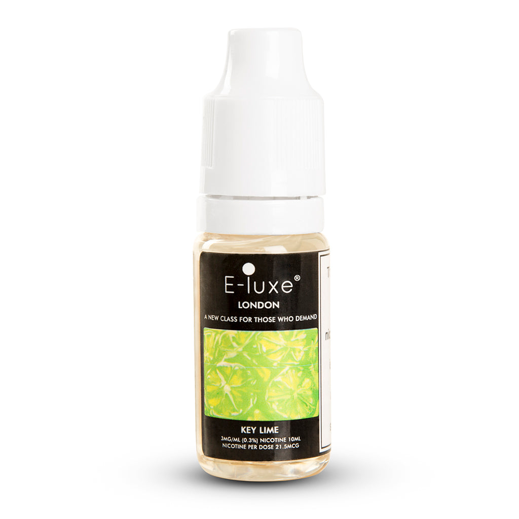 Vape Review of KEY LIME - PREMIUM E-LIQUID BY E-LUXE LONDON - DESSERT FLAVOURED E-LIQUID